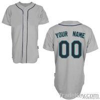Mariners Away Any Name Any # Custom Baseball Jersey Uniforms