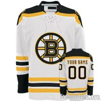 Bruins Away Any Name Any # Custom Hockey Jersey Uniforms
