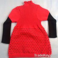 children girl knitwear sweater dress