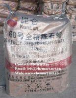 Kunlun Brand Paraffin Wax 60/62