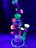 newest high end glass oil rig with wholesale price of smoking pipe