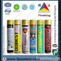 Cheap 750ml Fire proof PU foam