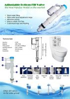 Adjustable fill valve (IV105)