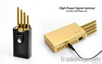 Portable Cell Phone/ GPS   jammer     TG-120D-Pro