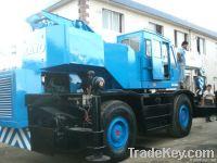 Rough Terrain Crane Kato 25t (Used)