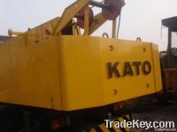 used kato truck crane 25t
