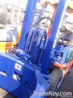 used komatsu 3t forklift with paper roll clamp