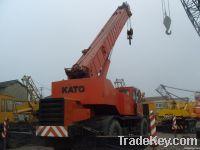 used kato 50t rough terrain crane