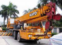 used kato 35t truck crane