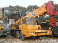used kato 35t truck crane with right hand drive