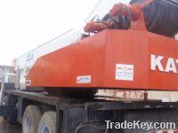 used kato 50t truck crane