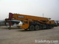used kato 80t truck crane