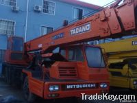 used tadano 30t truck crane