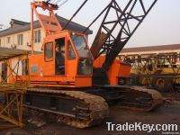 used Hitachi 50t crawler crane