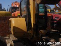 used CAT 305 excavator