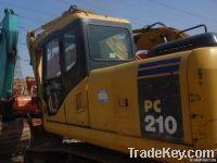 Used Excavator komatsu PC210