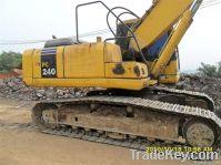Used Excavator komatsu PC240