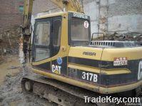 Used Excavator CAT317B