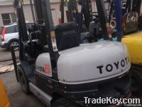 used toyota 2.5t forklift