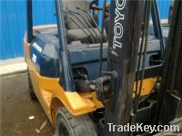 used toyota 2.5t forklift 7FD25