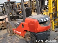 used toyota forklift 3t 8FD30
