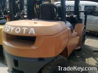 used toyota 5t forklift