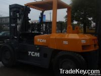 used TCM 10t forklift