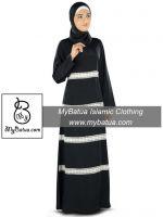 MyBatua Women's Wholesale Muslim Long Maxi Dress Fara Abaya AY-327