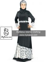 MyBatua Women's Wholesale Ethnic Muslim Dress Shukrah Abaya AY-331
