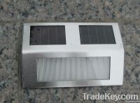 unique solar outdoor pathway stair LED light