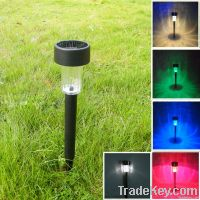 Latest Solar outdoor garden lawn LED lamp NO worry product