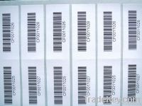 High Quality Barcode Label