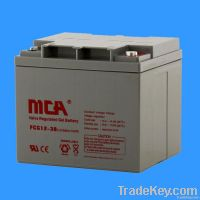GEL batteries 12V-38AH