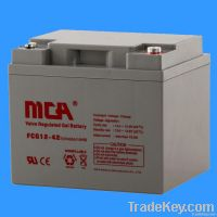 GEL batteries 12V-42AH