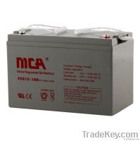 GEL batteries 12V-100AH