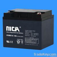 Gel Solar Battery