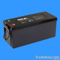 deep cycle battery + gel battery 12v-180ah