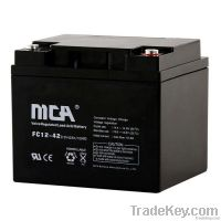 VRLA  battery + AGM battery 12v-42ah