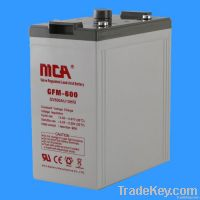 VRLA battery 2V-600AH