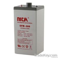 Stationary 2V AGM batteries