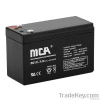 General AGM Batteries 12V-7.5AH