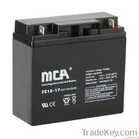 General AGM Batteries 12V-17AH