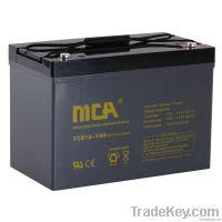 Deep cycle AGM batteries12V-100AH