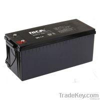 Deep cycle Gel Batteries12V-200AH