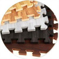 """Wood Grain Foam Floor  60X60cm /24""""X24""""/ 2'X2'"""