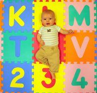 """Alphabet Foam Floor Mat 30X30cm /12""""X12""""/2'X2'"""