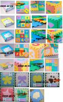 """Puzzle Foam Floor Mat 30X30cm /12""""X12""""/2'X2' with animals , fruit or other photos"""