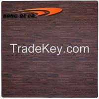 Wood Grain Foam Floor Mat 60X60cm / 2'X2'