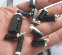 BLACK TOURMALINE STERLING SILVER JEWELRY