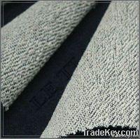 Knitted fleece denim fabric